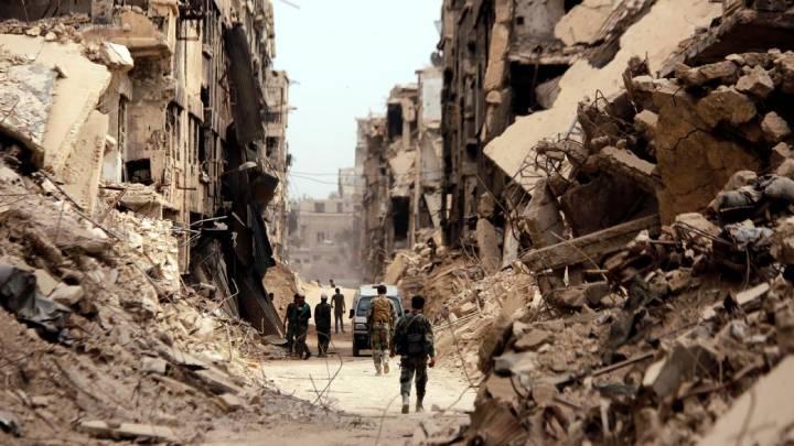 Suriye'den Gerçek Bir Görüntü