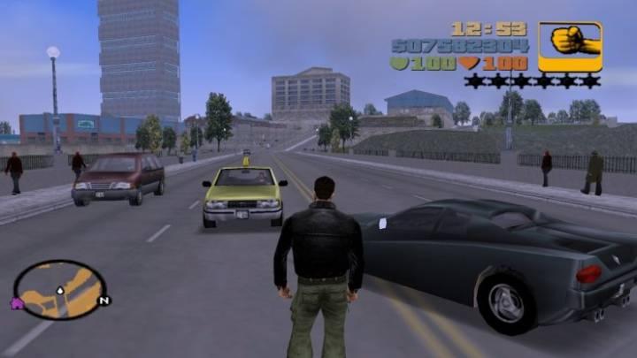 Grand Theft Auto III'ten bir ekran görüntüsü